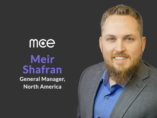 mce Appoints Meir Shafran  as General Manager of mce North America Operations