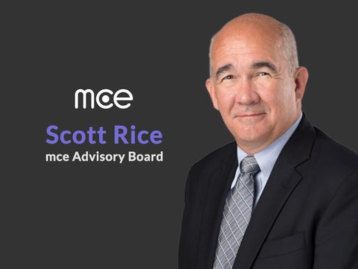mce Signs T-Mobile SVP Scott Rice as an Advisory Board Member
