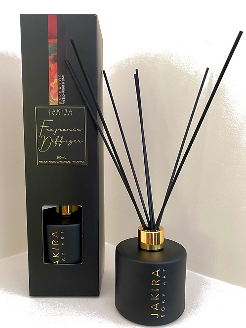 BARBADOS (Passionfruit & Lime) Reed Diffuser