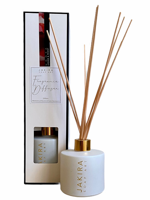 NOOSA (Lychee & Peony) Reed Diffuser White