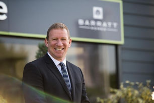 Barratt Developments CEO David Thomas.jp