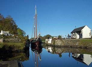 Heart of Argyll - Dutch sailing barge  C