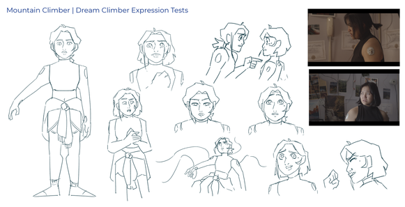 Mountain Climber: Expressions