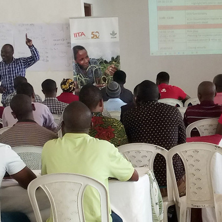 ACAI Trains Tanzania Government Extension Agents for AKILIMO Dissemination