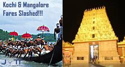 Kochi- Mangalore Fares Slashed