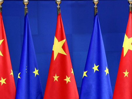 Peter Helis Interviewed by Xinhua Net of The Topic of CAI Agreement