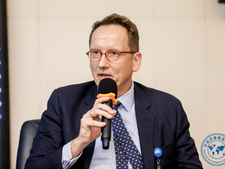 Peter Helis Speaks at the the 86th International Forum on China Reform