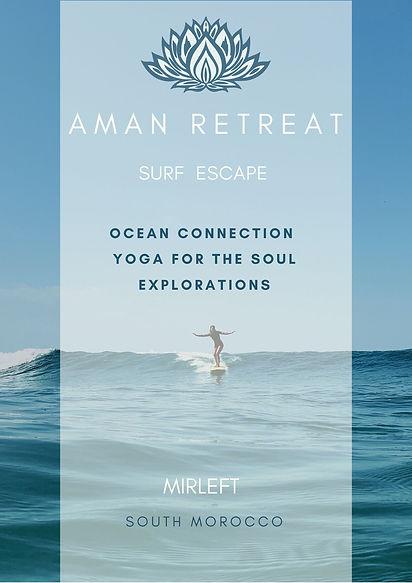 ocean escape retreat aman mirleft