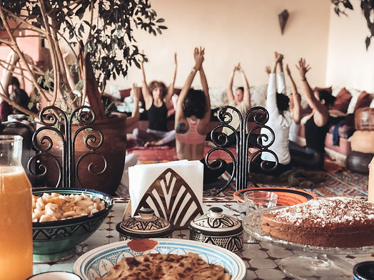 yoga retreat aman mirleft