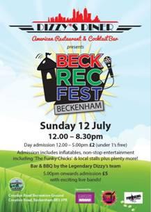 """LKC support local 'BECK REC FEST' event..."""