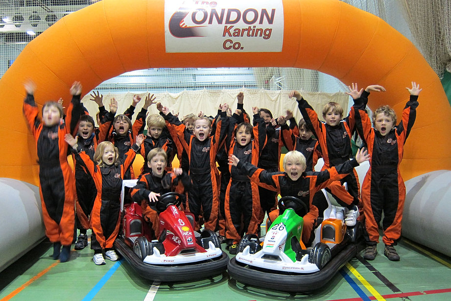 Parties UK The London Karting Company - Childrens birthday party ideas in london
