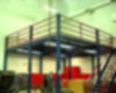 Freestanding Structural Mezzanine