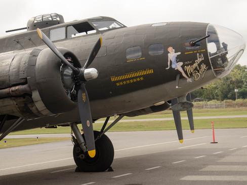 B-17 On the ramp