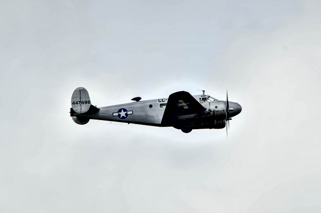 "C-45F Expeditor ""CC-696"""