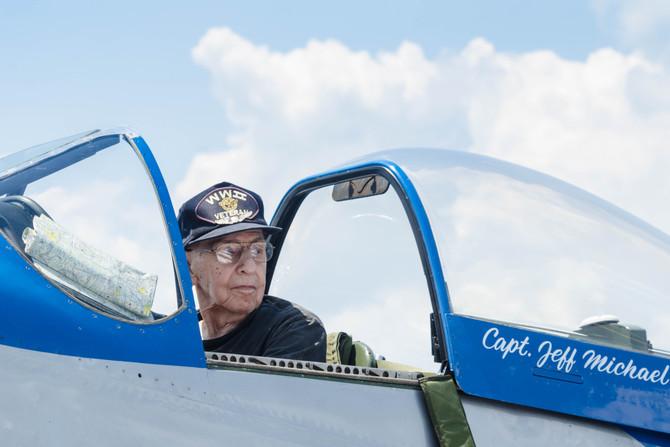"""The Greatest Generation - P-51D Pilot"""