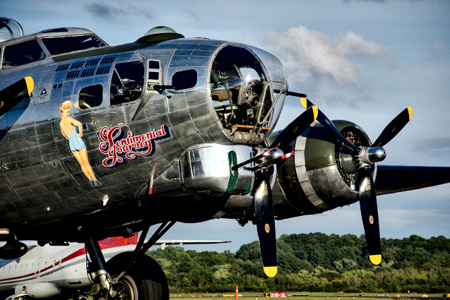 "B-17G Flying Fortress ""Sentimental Journey"""