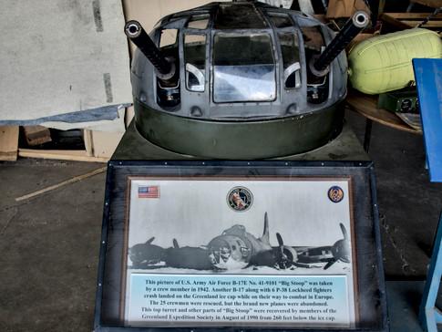 B-17E Dorsal Turrent