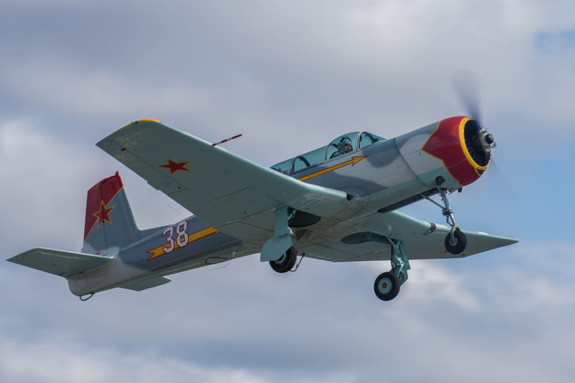 Nanchang CJ6 - Deprting