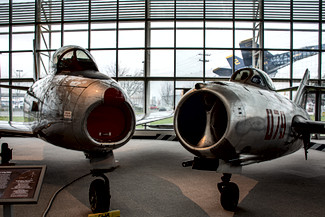 Canadair CL-13B Sabre Mk. 6 and Mikoyan & Gurevich MiG-15bis (Chinese Modified)