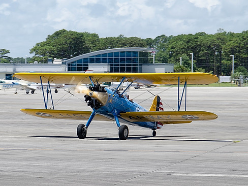 "PT-13B Stearman ""Dusty Blond"""