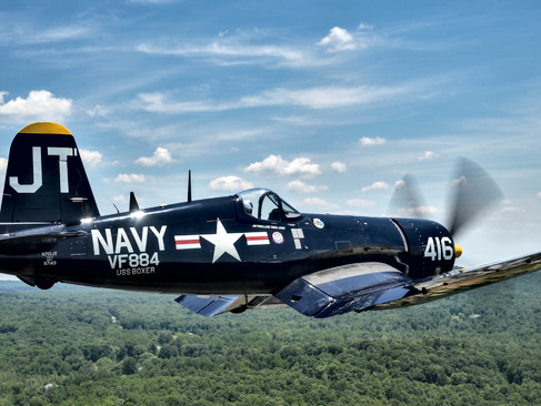 "F4U-4 Corsair ""Korean War Hero"""