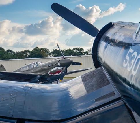 P-40 Warhawk / FG-1D Corsair
