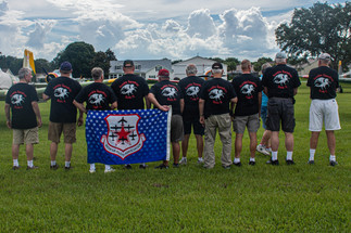 """Modeling our """"Humble Squadron"""" Shirts"""
