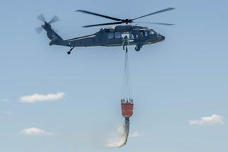 UH-60 Blackhawk Fire Suppresion Demo