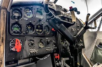 DHC-2 Mk1 Beaver Cockpit