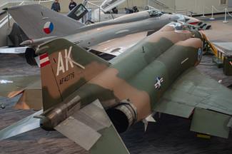 Mikoyan-Gurevich MiG-21 PFM and McDonnell F-4C (F-110A) Phantom II