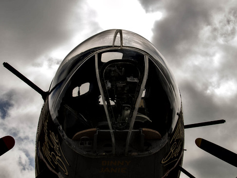 B-17F Bombadier's Station