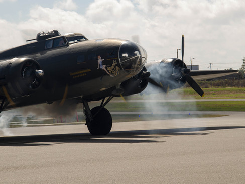 B-17 Starting #2 Engine