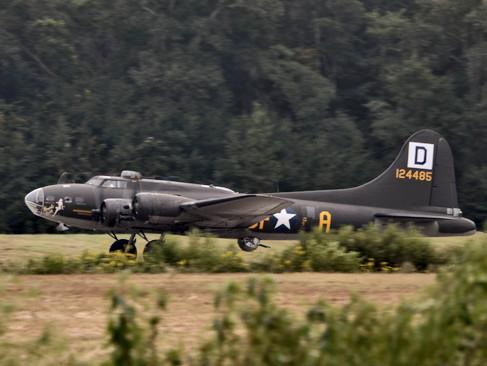 B-17 Taxing