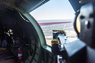 Port Waist Gunner Position on B-17