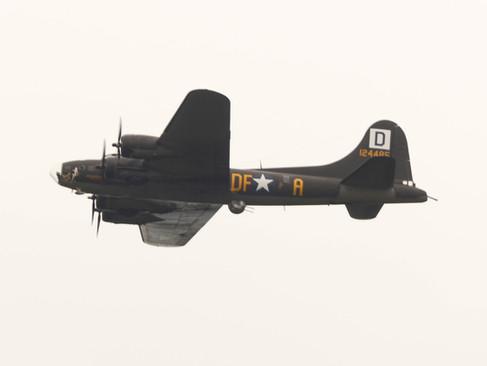 B-17 Overhead Pass