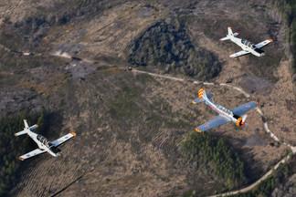 Yak-52 & Socata EB-30 Epsilon