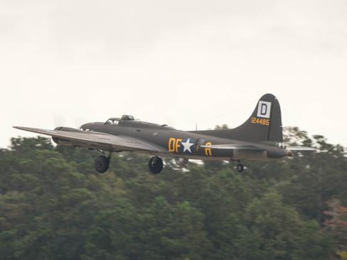 B-17 Take-off