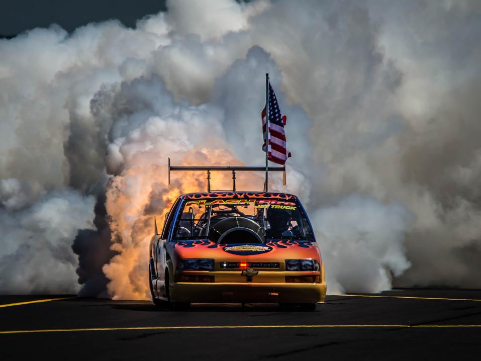Flash Fire Jet Truck