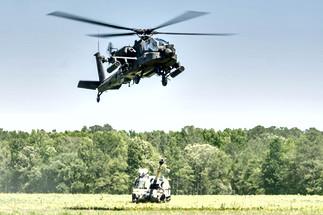 AH-64 Apache / M109A6 Paladin