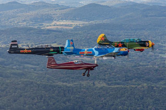Mass Formation Lead Flight