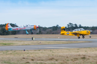 Yak & T-34 Section Take-off