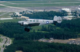 C-45F Turning Base at KMYR