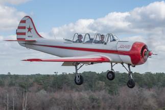 Yak 52 on Approach