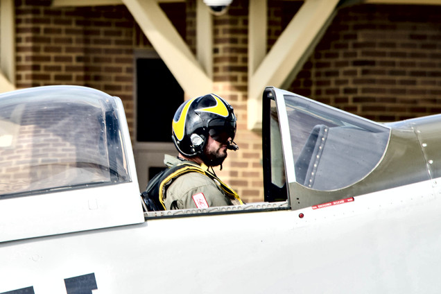 Alex Newsome - P-51 Pilot