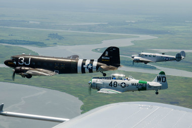 T-6G / C-47A / C-45F (f to b)