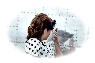 Pin-up Girl Reflections