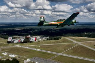 Gator Flight #1& #2 over KAY