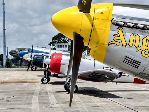 P-51 | SNJ-6 | FG-1D | DC-3 | C-46
