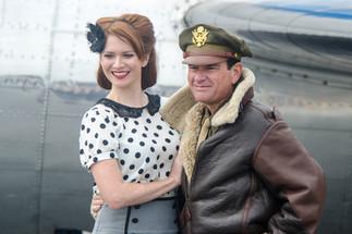 Reenactors - Model / WWII Pilot