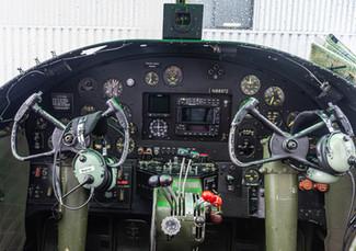 B-25D Mitchell Cockpit